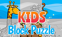 Kinder-Blockpuzzle