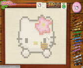 Hello Kitty borduren
